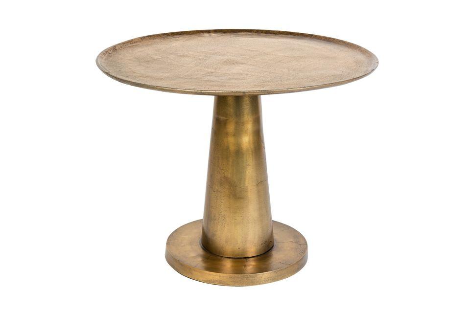 Wagen Sie einen Hauch von Exotik in Ihrem Wohnzimmer mit diesem kleinen Tisch