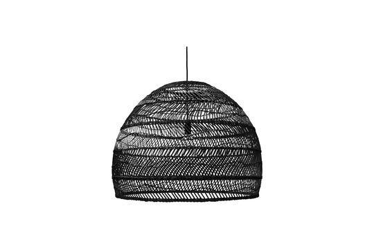 Sancy schwarze Korb-Hängelampe Größe L ohne jede Grenze