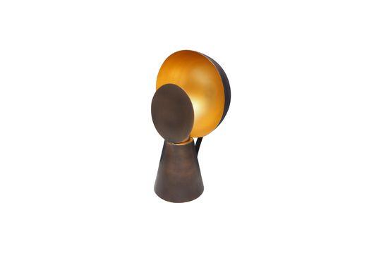 Schwarz und goldene Minilampe Hide & Seek