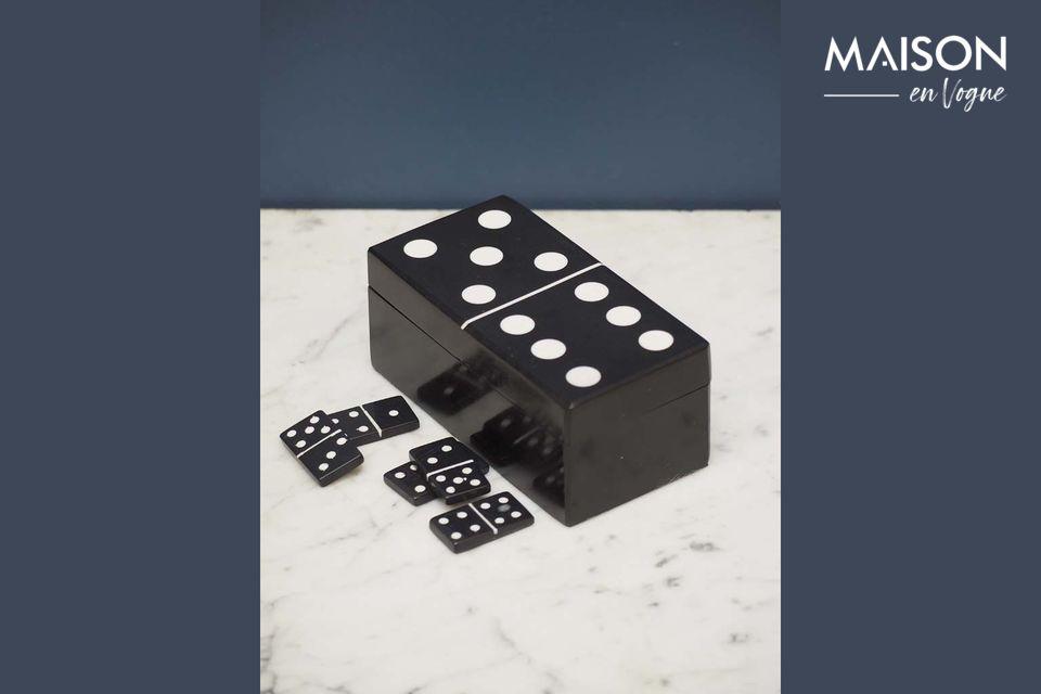 schwarze Dominobox Payns Chehoma