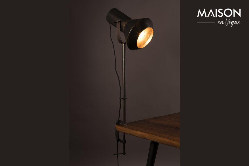 Schwarze Tischlampe Vox - 5