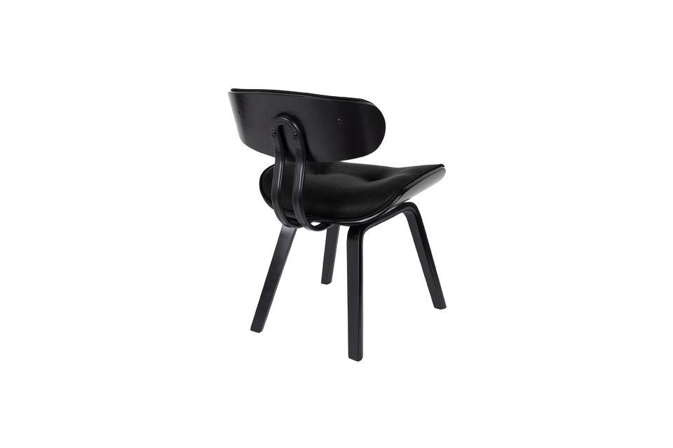 Schwarzer Stuhl Blackwood - 7