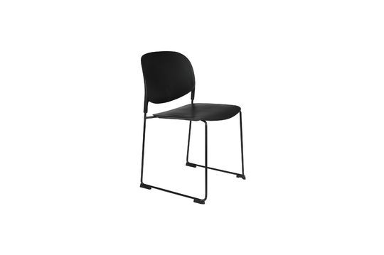 Schwarzer Stuhl Stacks