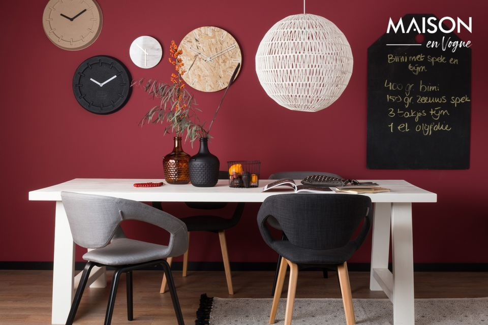 Schwarzer und dunkelgrauer Flexback-Sessel Zuiver