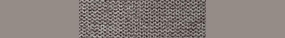 Materialbeschreibung Sessel Jolien schwarz und grau