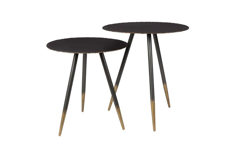 Auch wenn die Tische eine kleine orientalische Seite haben, so bleiben sie doch sehr modern