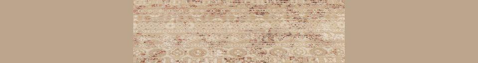 Materialbeschreibung Shisha Desert Teppich 160X235