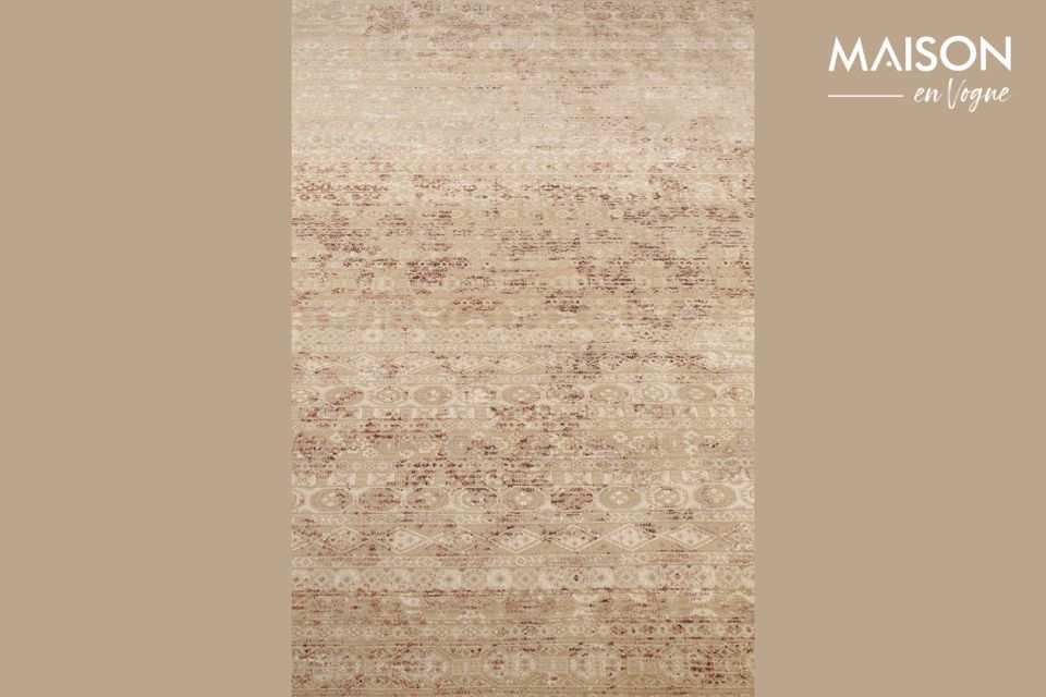 Ein praktischer Aspekt: dieser Teppich ist auch für Fußbodenheizung geeignet
