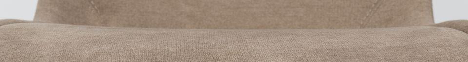 Materialbeschreibung Stuhl Brent sandfarben