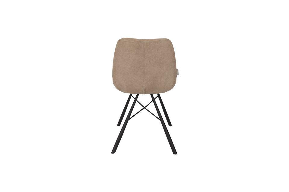 Stuhl Brent sandfarben - 6