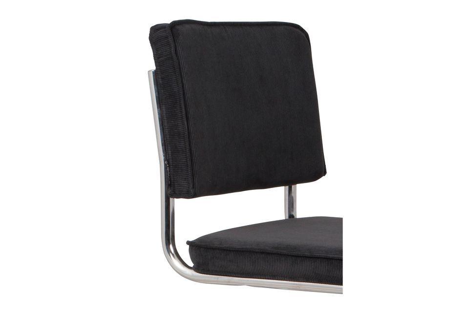 Stuhl Ridge Rib schwarz - 4