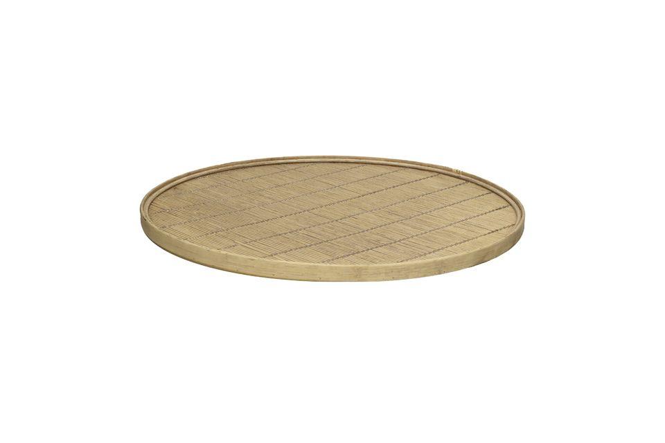Zweckmäßigkeit und Eleganz eines Tabletts aus Bambus