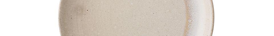 Materialbeschreibung Teller Columbine aus Stein