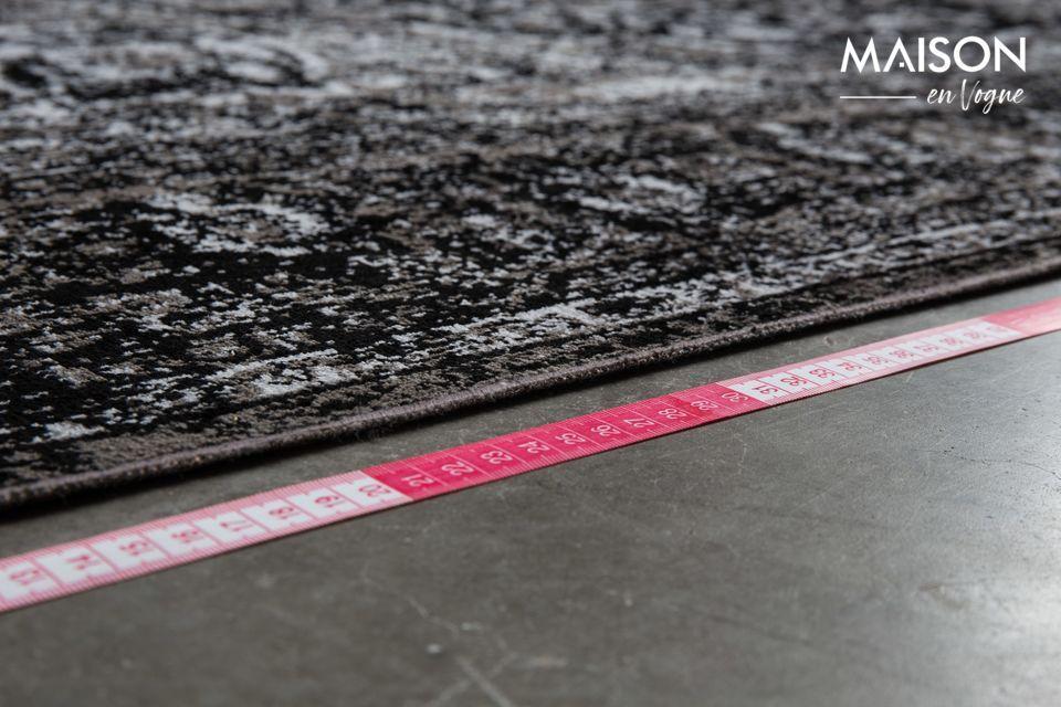 Ein Teppich mit elegantem Design, kompatibel mit Fußbodenheizung