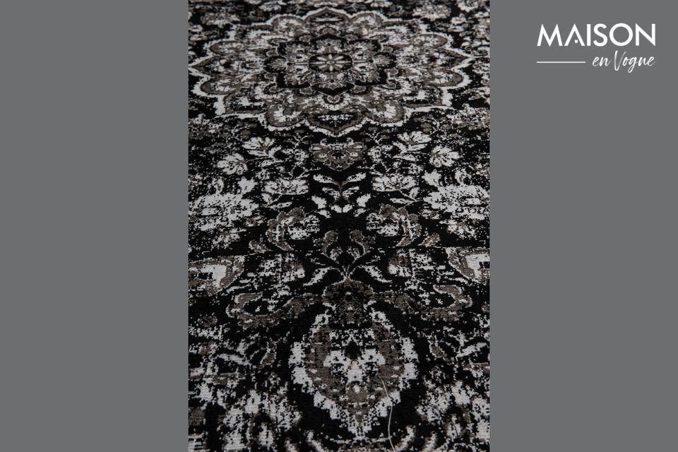 Teppich Chi Schwarz 160X230 - 8
