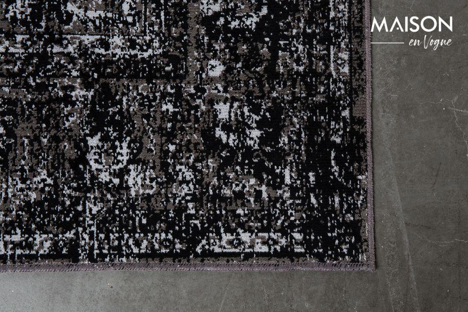 Teppich Chi Schwarz 160X230 - 12