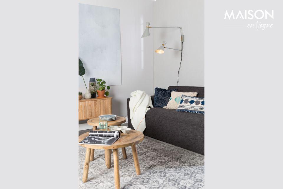 Der Teppich Malva ist äußerst flecken- und verschleißfest und überall zu Hause