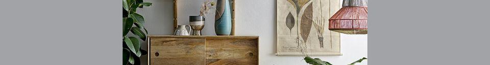 Materialbeschreibung Terrakotta-Dekovase Rompon