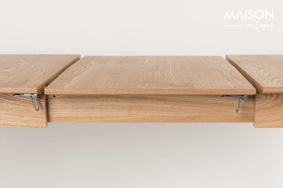 Tisch Glimps 180-240 x 90 Natur - 7