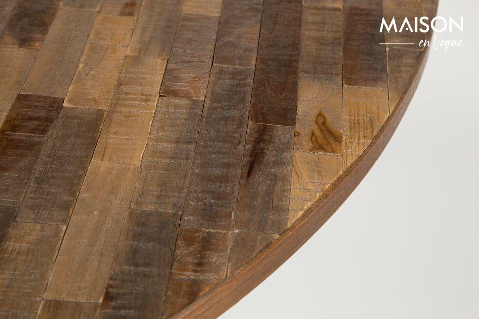 Bei einer Kombination aus Holz und Stahl ist es schwer einen Fehler zu begehen