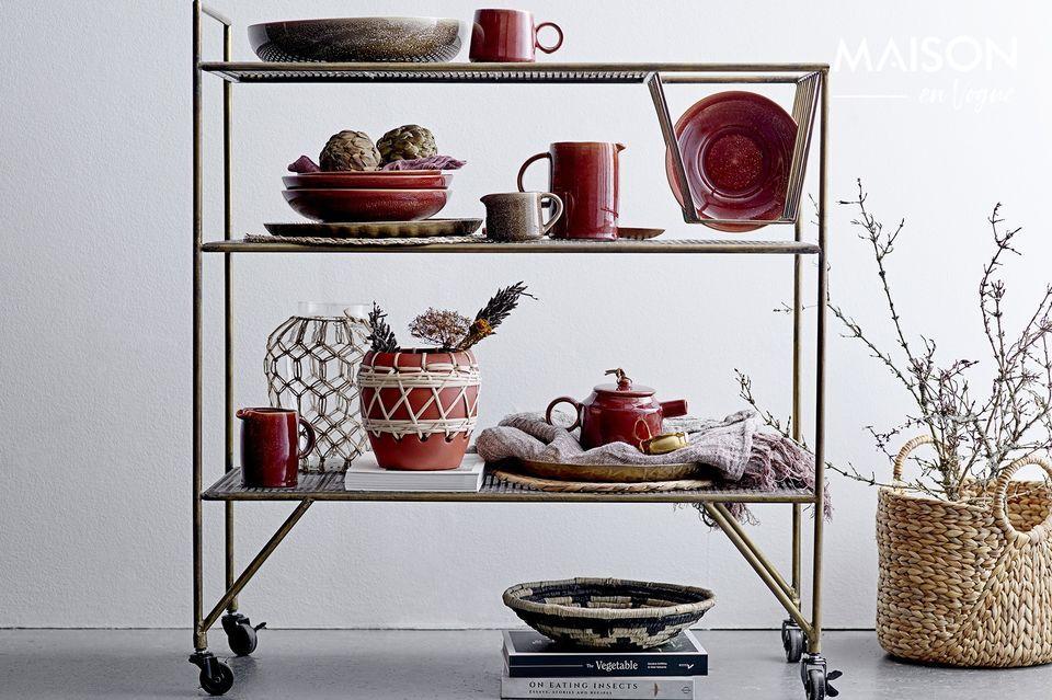 Ein einfaches, aber stilvolles Tischset