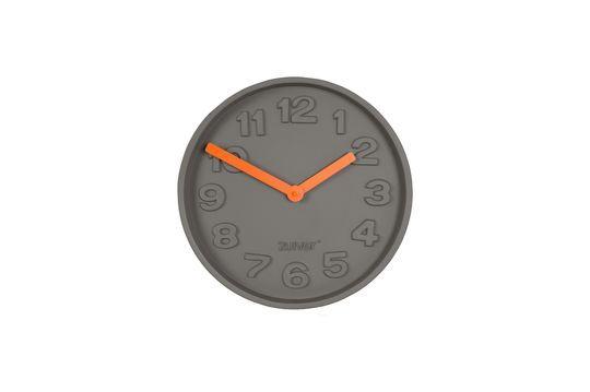 Uhr Concrete time in orange