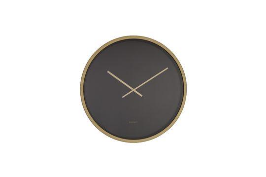 Uhr Time Bandit schwarz und messingfarben
