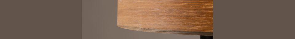 Materialbeschreibung Woodland Stehleuchte